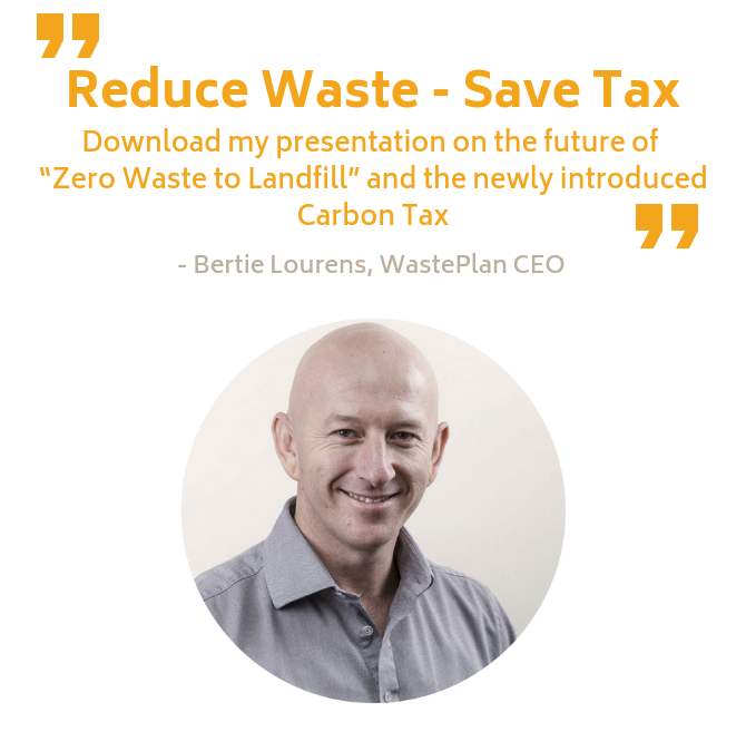 Reduce waste - Save tax